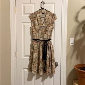Retrolicious Love Letters Dress